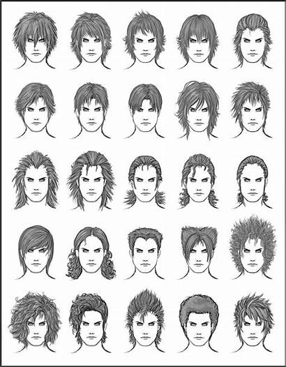 Hairstyles Hair Different Boys Hairstyle Character Male