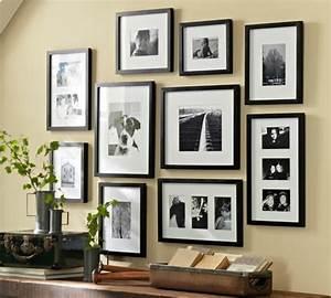 Wanddeko Ideen Wohnzimmer : bilderrahmen collage wanddeko ideen mit fotorahmen ~ Markanthonyermac.com Haus und Dekorationen