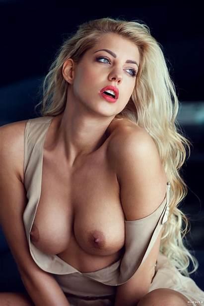 Sarah Nowak Boobs Playboy German Tits Lingerie