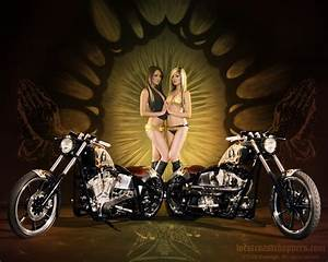 Chicks and Choppers Free Wallpaper - WallpaperSafari