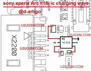 Sony Ericsson Xperia Arc Lt18i Charging Solution Jumper