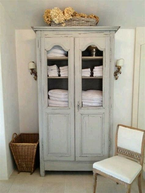 Linen Armoire Storage by Furniture Gorgeous Armoire For Bathroom Towel Storage