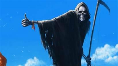 Reaper Grim Wallpapers Skull Dark Horror Creepy