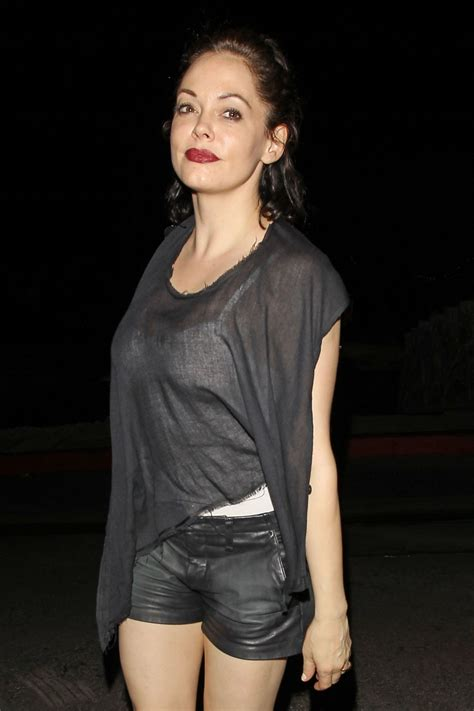 Rose McGowan Night Out Style - Chateau Marmont in West ...