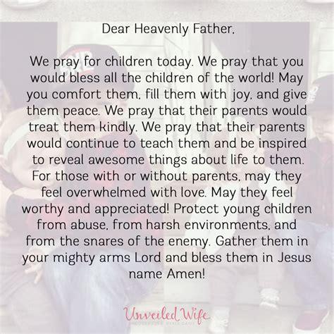 prayer  blessing  children