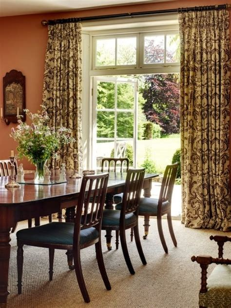 dining room curtains dining room s curtains in interior decoration