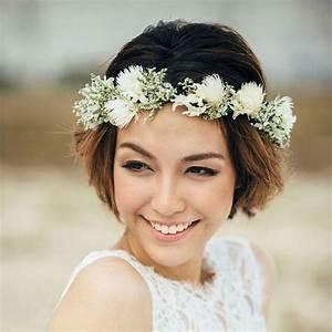 Couronne Fleur Cheveux Mariage : fleurs cheveux mariage ~ Melissatoandfro.com Idées de Décoration
