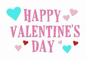 Free Happy Valentine's Machine Embroidery Design – Daily ...