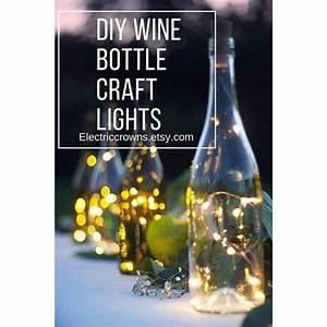 Flasche Mit Lichterkette : ber ideen zu lichterkette batterie auf pinterest ~ Lizthompson.info Haus und Dekorationen