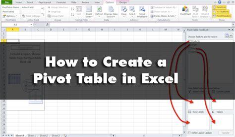 excel pivot table tutorial vitamincm com software tutorials
