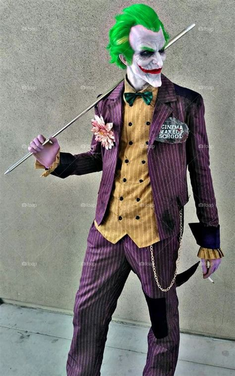 foapcom  joker cosplay costume  comic  stock