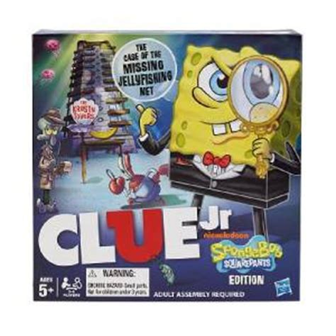 new nickelodeon spongebob clue nick jr board 675 | 722868182 tp