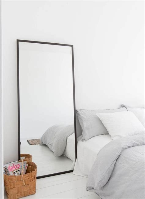 Bedroom Mirror Inspiration simple mirror for the home minimal bedroom