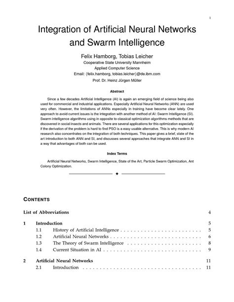 Calaméo - Integration of Artificial Neural Networks and