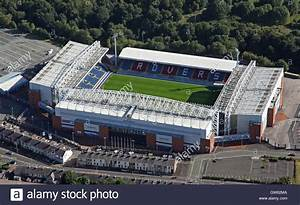 Aerial View Of Blackburn Rovers Football Ground Ewood Park