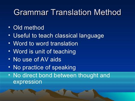 eclectic method of teaching english