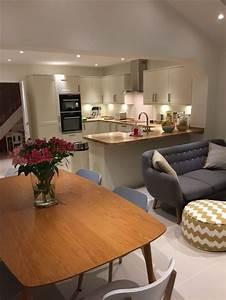 20 best open plan living designs regarding kitchen design With kitchen dining family room design