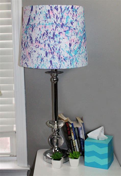 splatter paint lamp shade allfreekidscraftscom