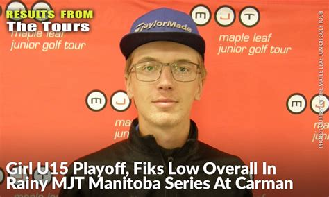 Girl U15 Playoff, Fiks Low Overall In Rainy MJT Manitoba ...
