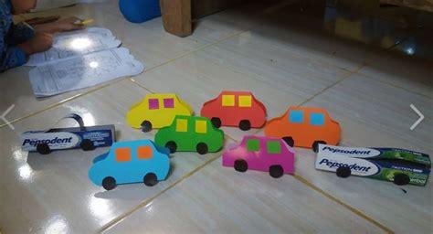 Menurut tempatnya, permainan anak paud / tk dibagi menjadi 2 macam, yaitu permainan di dalam ruangan dan permainan di luar ruangan. Kreasi Mobil Berbahan Kertas Origami - Dunia Belajar Anak