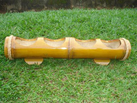 bambu in vaso jardineira de bambu vaso de flor ou mini horta cachepo r
