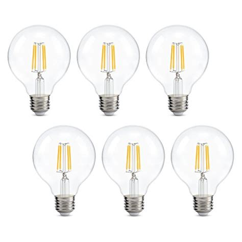 Bathroom Light Bulb by Dimmable Edison Led Globe Light Bulb G25 Bathroom Vanity
