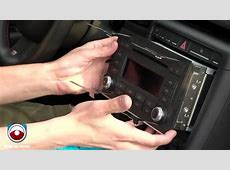 Audi A4 2007 & 2008 Radio Removal YouTube