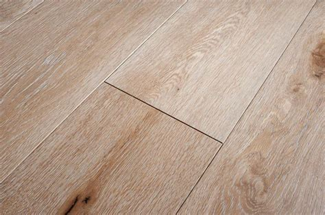 Emperor Engineered White Washed Oak Wood Flooring 189mm
