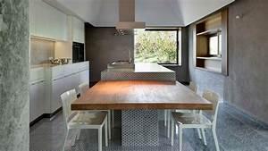 Kücheninsel Mit Tisch : innovativ k cheninsel angrenzend esstisch k che pinterest k che k che mit insel und ~ Yasmunasinghe.com Haus und Dekorationen