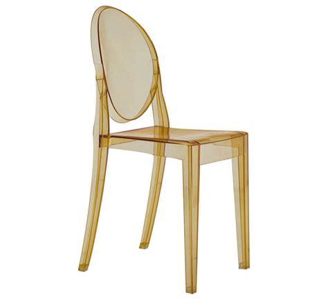 chaises stark armless ghost chair bronze a1