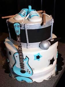 Rock Star Baby : rock star baby shower cake rock star baby shower pinterest ~ Whattoseeinmadrid.com Haus und Dekorationen