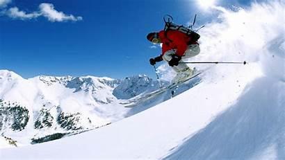 Skiing Snow Ski Winter Wallpaperup Mountains Wallpapers