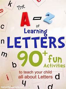 learn with play at home the a z of learning letters 90 With teaching letters to toddlers