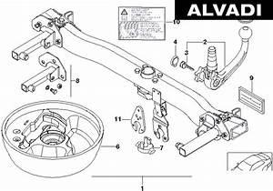 Westfalia Detachable Towbar Spare Parts