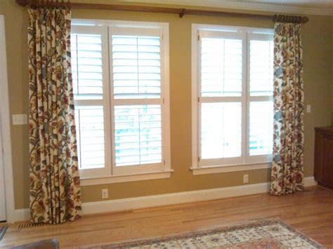 large window dressing window treatments