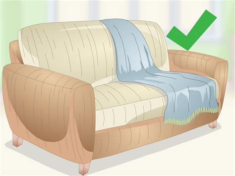 Loveseat Throw by 3 Ways To Drape A Throw A Sofa Wikihow