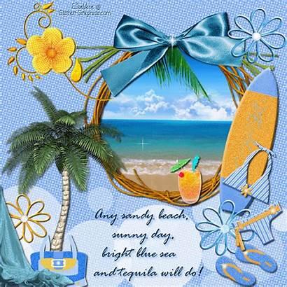 Beach Sunny Bright Glitter Sandy Sea Summer