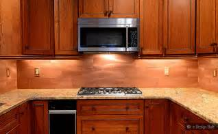 kitchen backsplash and countertop ideas copper color large subway backsplash backsplash