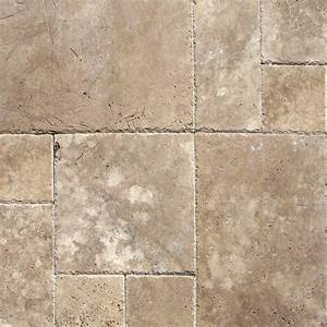 Travertine tile natural stone tile tile the home depot for Travertine tile