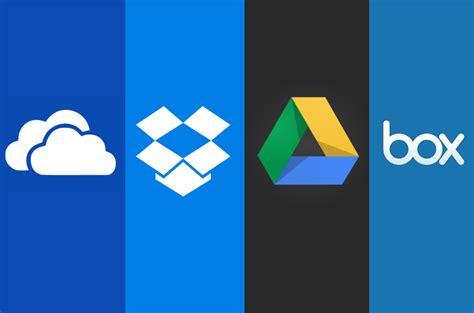 cloud storage dropbox alternatives top 5 best cloud storage services 2018