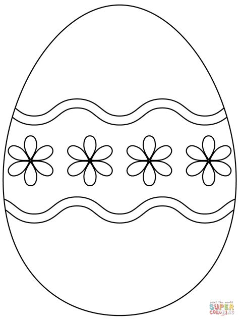 hd easter eggs coloring pages vector images  vector