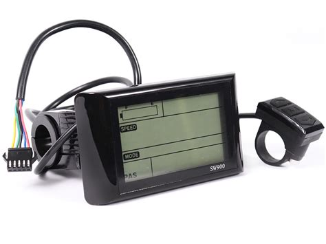 ebikeling 36 48v sw900 lcd display for electric bicycle ebike ebay