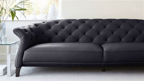 chesterfield sofa modern modern 3 seater leather chesterfield sofa uk