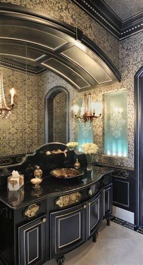 home decor trends  gothic bathroom