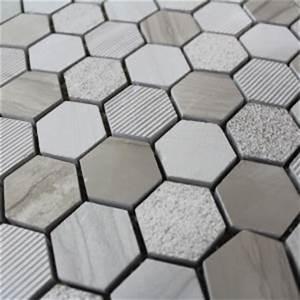 Pierre Et Sol : carrelage hexagonal blanc sol et mur parquet carrelage ~ Melissatoandfro.com Idées de Décoration