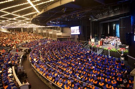 the theater at square garden bmcc news bmcc celebrates fiftieth commencement