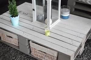 Table Basse Palettes : diy table basse palette bricolage pinterest table ~ Melissatoandfro.com Idées de Décoration