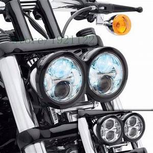 New design customized w inch fat bob led head light