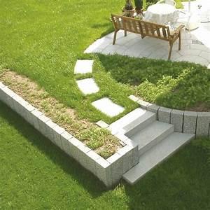 Gartengestaltung Böschung Gestalten : palisaden granit garten stelen garten palisade stele garten granit garten stele berlin ~ Markanthonyermac.com Haus und Dekorationen