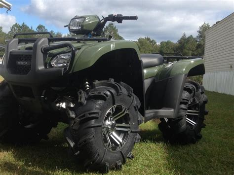 Wanting to lift my 2013 on 28in silverbacks - Honda ...